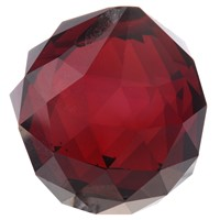 40mm Red Crystal Ball Prisms by Gift Square