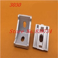 20pcs 3030 corner fitting angle aluminum 28 x 35 connector bracket fastener match 3030 industrial aluminum profile