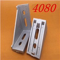 5pcs 4080 corner fitting angle aluminum 40 x 80 connector bracket fastener match 40 industrial aluminum profile