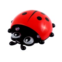 UXCELL Home Plastic Ladybird  Suction Cup Toothbrush Toothpaste Holder holder | toothbrush | toothpaste