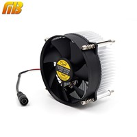 [MingBen] 1set High quality 95x95x66mm radiator with fan Aluminum heatsink Extruded profile heat sink for heat dissipation