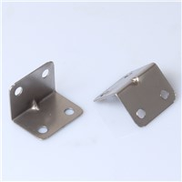 Angle 90 degrees angle l angle type thick fixed bracket wardrobe cabinets connector hardware fittings galvanized