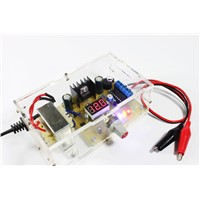 Electronic diy parts lm317 adjustable voltage regulator board kit power supply kit transformer