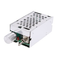 10V-40V 3A DC Brushless Motor Speed Controller Reversible Driver Adjustable Speed Switch Reversing Switch