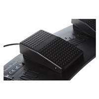 Promotion! FS3-P USB Triple Foot Switch Pedal Control Keyboard Mouse PC Game Plastic