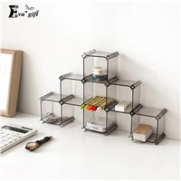6pcs/set honeycomb box drawer lattice organizer storage holder multifunction DIY cosmetic stationery figure&underwear desk rack