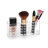 Women Heart Shaped Lipstick Cosmetic Makeup Organizer Case Jewelry Display Storage Box Rangement Rack Holder C178