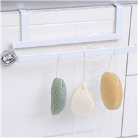 Hot Sale Iron Kitchen Tissue Holder Hanging Bathroom Toilet Roll Paper Holder Towel Rack Kitchen Cabinet Door Hook Holder