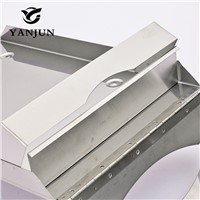 Yanjun Wall Mounted Stainless Steel Toilet Paper Holder  C-Fold or Multifold Paper Towel Dispensers Bathroom Accessories YJ-8680