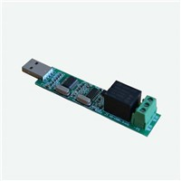 Usb control relay moudle 1 channel relay intelligent control module switch Intelligent power control