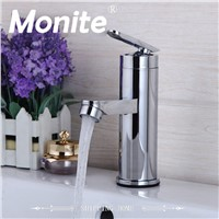 US Bathroom Faucet Basin Sink Tap Hot and Cold Water Mixer Tap Deck Mounted Bathroom Faucet Without the Hose