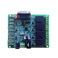 Relay moudle 4 channel relay intelligent control module RS232 Address set up switch Intelligent power control