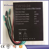 1000w waterproof wind turbine generator controller 24V/48V for wind turbine generator factory price on sale