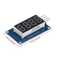 4 Bits TM1637 Digital Tube LED Clock Display Module Due UNO 2560 R3 For Arduino W315