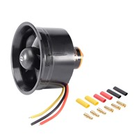 64mm 5 Blades Ducted Fan EDF Unit with QF2611 4500KV 3-4S Brushless Motor