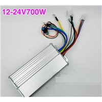 DC12-24V 700W 0-30A Brushless Motor Controller Speed Control Drive Hall Induction Stepless Speed Regulation Forward and Reverse