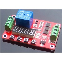 1 channel relay moudle with Digital Tube High Level Trigger timer switch self-locking 18 kinds model