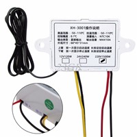 Digital LED Temperature Controller Thermostat Control Switch Probe 220V 10A JUL05_15
