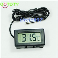 Aquarium LCD Digital Thermometer Fish Tank Water