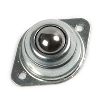 "2pcs 5/8"" Flange Mounted Ball Transfer Bearing Unit Caster Conveyor Roller Wheel"