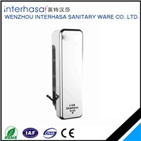 304 stainless steel  new-designed Wall-mounted single head bathroom manual liquid soap dispenser