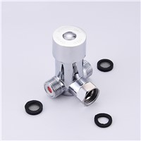 Basin Faucet For Bathroom Ceramic Chrome Sensor Faucet Cartridges Automatic Infrared Cast Cold Hot Bathroom Sink Faucet 8102