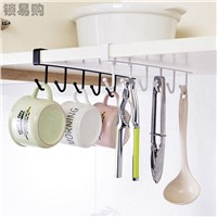 Iron Cup & Tumbler Holders Storage Rack Cupboard Hanging Hook Shelf Dish Hanger Chest Storage Shelf Bathroom Organizer Holder