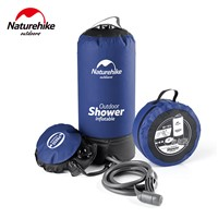 Naturehike 11L Camp Shower Water Bag Car Washing Pressure Faucet Portable Inflatable Bath Shower Bag Outdoor Gear