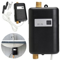 3800W 220V Mini Instant Tankless Electric Hot Water Heater Home Bathroom Kitchen Instant Heating Tap Shower Faucets