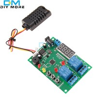 Digital LED Display Temperature & Humidity Control Board w/ AM2301 Sensor