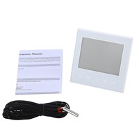SeeSii Programmable Thermostat Heating Temp WiFi LCD Touch Screen Temperature Control Underfloor 16A 230V Remote
