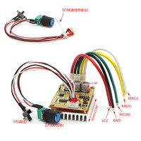 350W 5-36V Brushless Controller BLDC Motor driver Wide Voltage High Power Three-phase