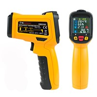 -50-800 C Digital Infrared Thermometer LCD Non-contact Aquarium Laser Point Gun Pyrometer IR Temperature Meter