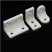 Woodworking Hardware Furniture Fixed Right Angle Connector Plastic L Corner 39X23X23mm X50