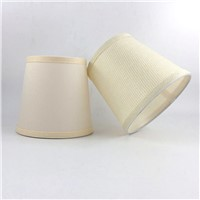 2pcs Modren Fabric and PVC Lamp shades, Wall lampshades fabric, E14