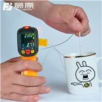 FUJIWARA Infrared Temperature Instrument -50-800 Centigrade  Industrial Household Infrared Thermometer Gun Digital Thermometer
