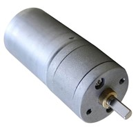 High Quality 12V DC 258 turn the outer diameter of 25MM RF-370 geared motors