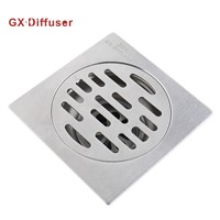 Floor Drain Stainless Steel SUS304 Drain Bathroom Brushed GX Diffuser