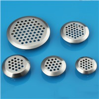Stainless Steel Round ConvexityShape Mesh Cut Dia.19mm/25mm/30mm/35mm/53mm Wardrobe shoe Cabinet Ventilating Mesh Hole Air Vents