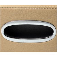 car home Tissue Box Modern leather Paper towel Napkins Holder for A/udi A4L A3 A6L A8 Q3 Q5 Q7 Tissue container
