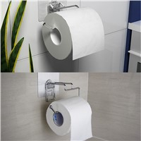 152*135*85 mm Seamless Stainless Steel Simple Paper Towel Racks Creative Toilet Roll Hold Scope In Glossy Glass Smooth Marble