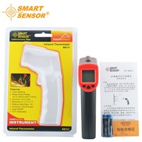 AS390 Laser LCD Digital IR Infrared Thermometer Handheld Temperature Meter gun Non-Contact Temperature measuring Thermal imager