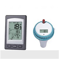 Digital Wireless Swimming Pool SPA Floating Thermometer Wireless LCD Indoor Outdoor Pond Spa Hot Tub Temperature Transmitter