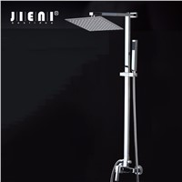 US 8 inch Square Stainless Steel Ultra-thin Shower heads  Rainfall Shower Head Rain Shower Not Includes Shower Arm