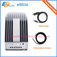 24v 40A 40amp solar power bank regulator Tracer4215BN Max PV input 150v with USB communication cable connect PC