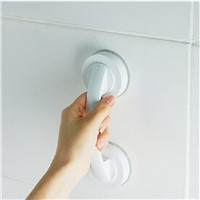 1PCS Safety Helping Handle Anti Slip Support Toilet bathroom safe Grab Bar Handle Vacuum Sucker Suction Cup Handrail Grip