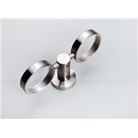 Stainless Steel Brushed Cup Holder Glass Cups Bathroom Accessories Toothbrush Tooth Cup Holder