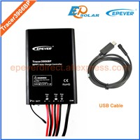 12v battery charge controller 15A 15amp MT50 meter USB cable Tracer3906BP tracer mppt EPEVER original product