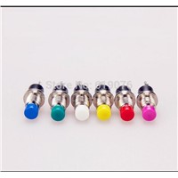 5pcs 6MM 7MM round no lock self reset Mini button switch, press break switch PBS-110