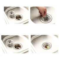 Top Selling Bath Kitchen Waste Sink Strainer Filter Net Drain Hair Catcher Stopper
